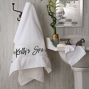 Personalized Bath Towels - Cozy Home - 19434