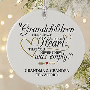 Personalized Ornaments - Grandparents Are Special - 19444