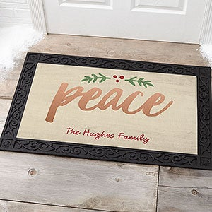 Personalized Doormats - Cozy Christmas - 19462