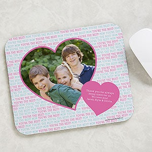 Photo Mouse Pad - Love You This Much! - 19517
