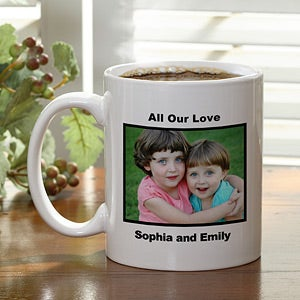 Personalized Photo Ceramic Coffee Mug - 1956