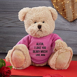 Personalized Teddy Bear With Message - 19588