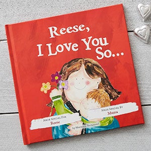 personalized kids books i love you so
