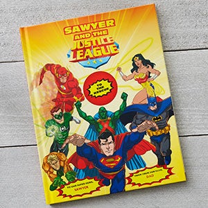 Personalized Kids Superhero Books - Meet the Justice League - 19633D