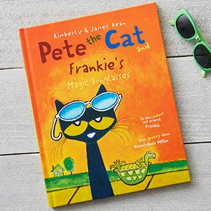 Personalized Kids Books - Pete the Cat and the Magic Sunglasses - 19637D