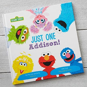 Personalized Sesame Street Children's Book - Just One You - 19639D