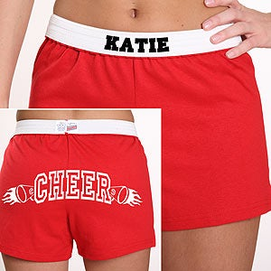 Personalization Mall Personalized Athletic Soffe Shorts with Sport and Name - Red at Sears.com