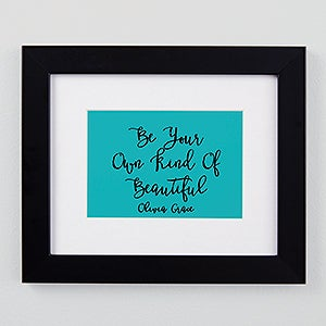 Personalized Framed Prints - Write Your Own - 19694