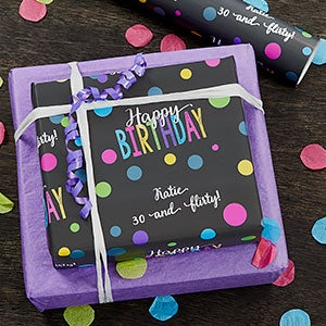 Personalized Wrapping Paper - Bold Birthday - 19732
