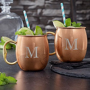 Personalized Moscow Mule Mugs - Top Shelf - 19777