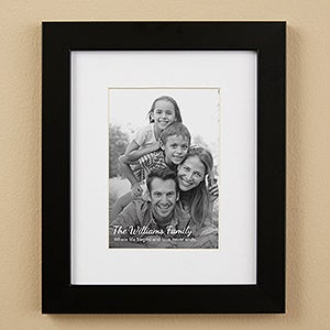 Personalized Text Overlay Framed Photo Prints - 19788