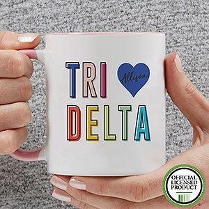Personalized Sorority Mugs - Delta Delta Delta - 19843