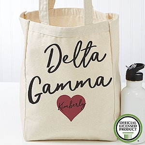 Personalized Delta Gamma Tote Bag - Small - 19844