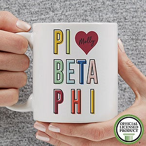 Personalized Sorority Mugs - Pi Beta Phi - 19871