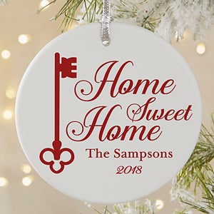 Personalized Home Sweet Home Ornament  - 19878