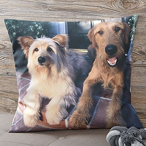 Personalized Pet Photo Pillows - Pet Memories - 19893