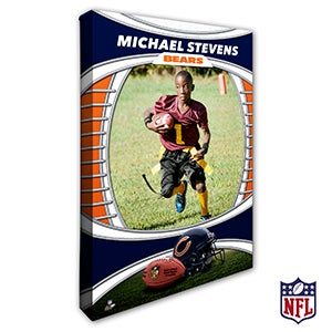 Personalized NFL Canvas Prints - Chicago Bears - 19901