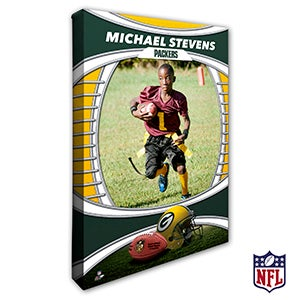 Personalized NFL Canvas Prints - Green Bay Packers - 19907