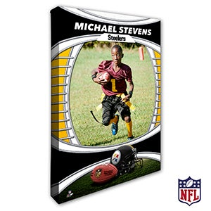 Personalized NFL Canvas Prints - Pittsburgh Steelers - 19921