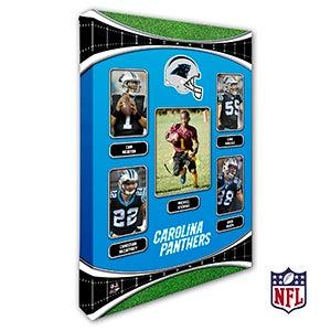 Personalized NFL Wall Art - Carolina Panthers Art - 19931