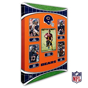 Personalized NFL Wall Art - Chicago Bears Art - 19932