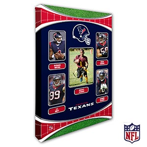 Personalized NFL Wall Art - Houston Texans Art - 19939