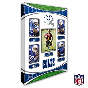 Personalized NFL Wall Art - Indianapolis Colts Art - 19940