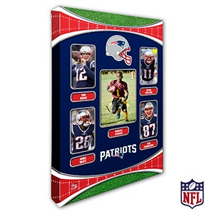 Personalized NFL Wall Art - New England Patriots Art - 19947
