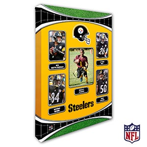 Personalized NFL Wall Art - Pittsburgh Steelers Art - 19952
