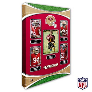 Personalized NFL Wall Art - San Francisco 49ers Art - 19953