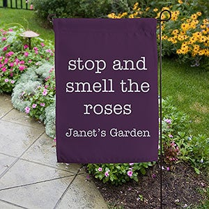 Personalized Garden Flag - Add Any Text - 19994