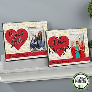 Personalized Sorority Picture Frames - Chi Omega - 20060
