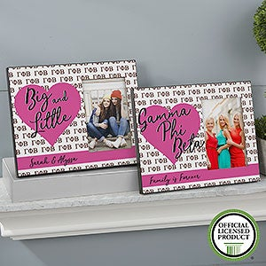 Personalized Sorority Picture Frames - Gamma Phi Beta - 20064