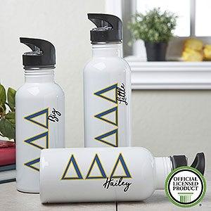 Personalized  Tri Delta Water Bottle - 20091