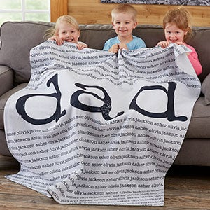 Our Special Guy Personalized Blankets For Men - 20103