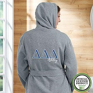 Delta Delta Delta Personalized Sweatshirt Robe - 20105