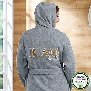 Kappa Alpha Theta Personalized Sweatshirt Robe - 20110