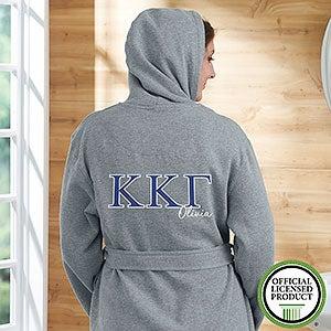 Kappa Kappa Gamma Personalized Sweatshirt Robe - 20112