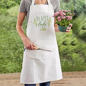 Plant Lady Personalized Gardening Apron
