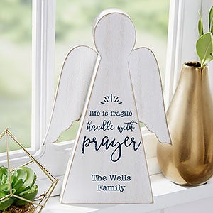 Faith Expressions Personalized Wood Angel - 20162