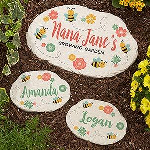 Personalized Garden Stones - Grandma's Growing Garden - 20169