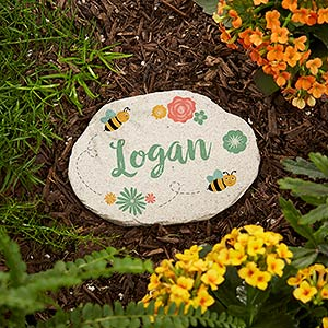 Personalized Garden Stones   Grandmau0027s Growing Garden   20169