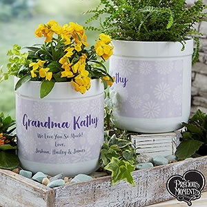 Personalized Flower Pots - Blooming Precious Moments - 20187