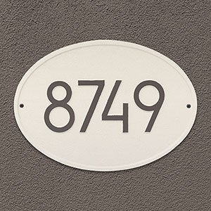 Personalized Address Plaque - Hawthorne - 20259D