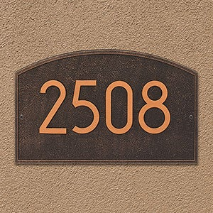 Personalized Address Plaque - Legacy - 20260D