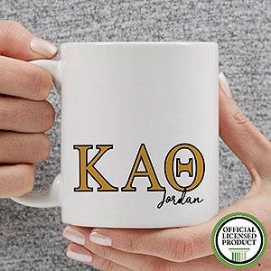Personalized Kappa Alpha Theta Coffee Mugs - 20281