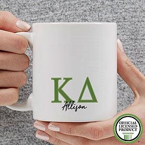 Personalized Kappa Delta Coffee Mugs - 20282