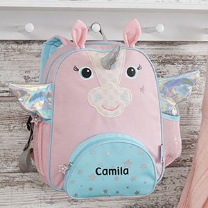 Personalized Unicorn Kids Backpack - Allie the Alicorn - 20287