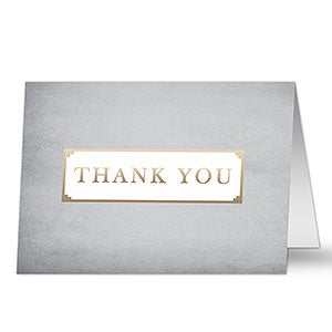Professional Thank You Personalized Greeting Card - 20428