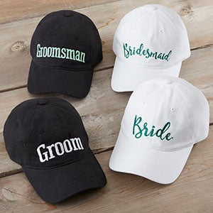 Personalized Wedding Baseball Caps - 20446